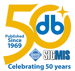 The Data Base for Advances in Information Systems - Celebrating 50 Years